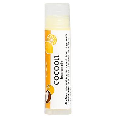 Son dưỡng môi lip balm Cocoon Dầu dừa + tinh chất chanh