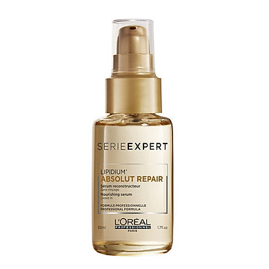 Tinh dầu dưỡng tóc Loreal Serie Expert Absolut Repair Double Serum for sealing split ends for very damaged hair 50ML