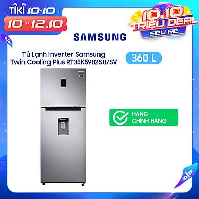 Tủ Lạnh Inverter Samsung Rt35k5982s8/Sv (360l) – Hàng Chính Hãng