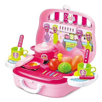 Đồ Chơi Nấu Ăn Hộp Vali Có Quai Xách Toyshouse - Màu Hồng
