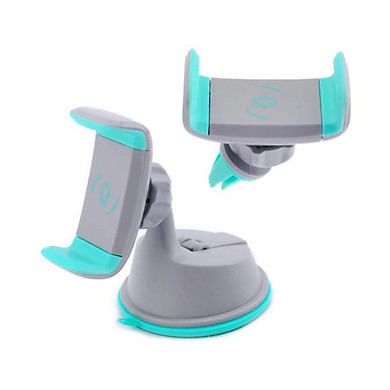 Giá đỡ điện thoại đa năng trên Ô tô gắn kiếng, taplo và khe máy lạnh (Giao màu ngẫu nhiên) - Hàng nhập khẩu