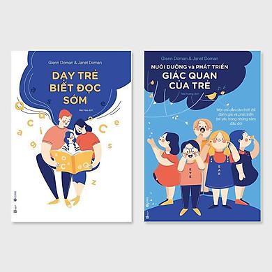 Combo 2 cuốn: Dạy Trẻ Biết Đọc Sớm + Nuôi Dưỡng Và Phát Triển Giác Quan Của Trẻ (tái bản 2020)
