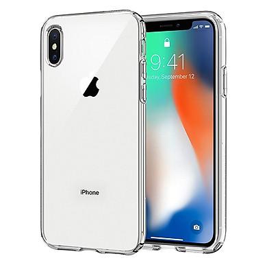Ốp Silicon Dẻo Trong Suốt Cực Mỏng Dành Cho iPhone X