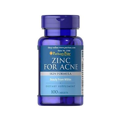 Thực phẩm bảo vệ sức khỏe Kẽm trị mụn - Zinc for Acne