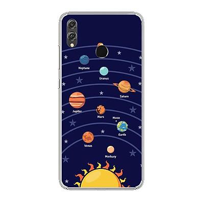 Ốp lưng dẻo cho điện thoại Huawei Honor 8X - 0342 SOLARSYSTEM02 - Hàng Chính Hãng