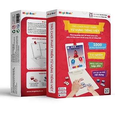 Trò chơi phát triển trí tuệ trẻ em Magicbook Bộ Phát Triển Từ Vựng Tiếng Việt