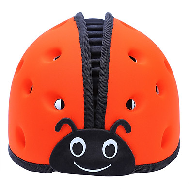 Mũ Bảo Vệ Đầu Cho Bé Mumguard Hình Bọ Cánh Cam - Cam