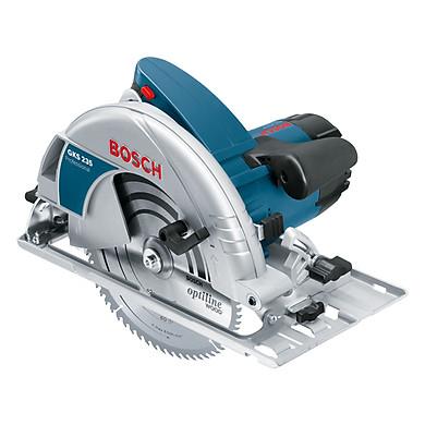 Máy cưa đĩa Bosch GKS 235 turbo – Tặng phụ kiện 1 lưỡi cắt & 1 ray