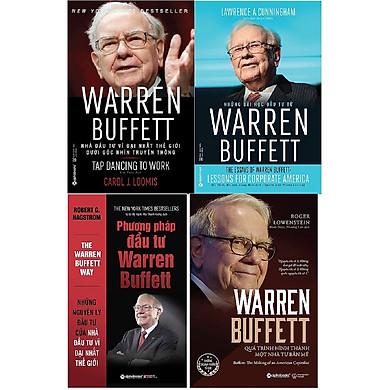 Combo Warren Buffett - Quá Trình Hình Thành Một Nhà Tư Bản Mỹ + Warren Buffett - Nhà Đầu Tư Vĩ Đại Nhất Thế Giới Dưới Góc Nhìn Truyền Thông + Những Bài Học Đầu Tư Từ Warren Buffett +Phương Pháp Đầu Tư Warren Buffett