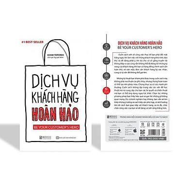 Cuốn sách : Dịch Vụ Khách Hàng Hoàn Hảo: Be your customer's hero KZ