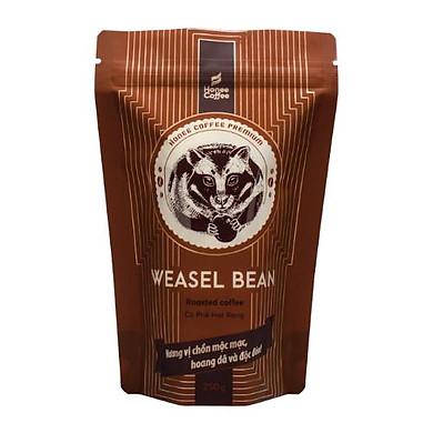 CÀ PHÊ HẠT RANG HƯƠNG CHỒN ( NÂU)  - HONEE COFFEE