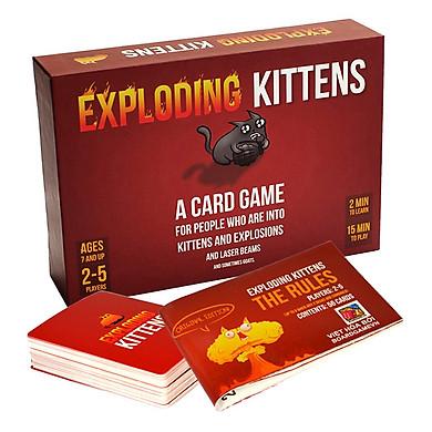 Boardgame Mèo Nổ - Exploding Kittens