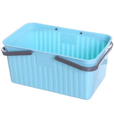 Gobestart Plastic Hand Bath Shower Basket Kitchen Storage Basket Storage Basket