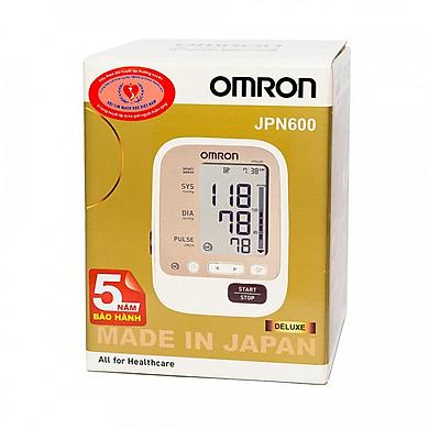 Máy Đo Huyết Áp Bắp Tay Omron JPN-600 (made in Japan)+ Tặng 1 Nhiệt Kế Omron Mc-246