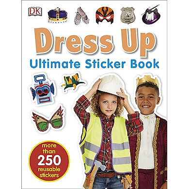 Ultimate Sticker Book Dress Up