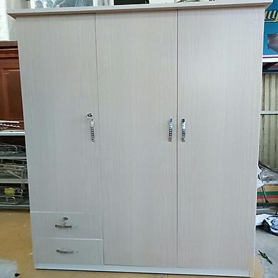 Tủ quần áo bằng nhựa đài loan 1,85m x1,25m x50cm các màu