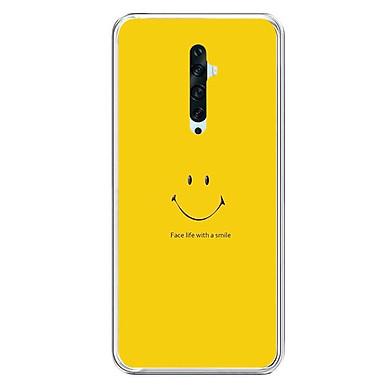 Ốp lưng điện thoại Oppo Reno 2F - Silicon dẻo - 0271 SMILE02 - Hàng Chính Hãng