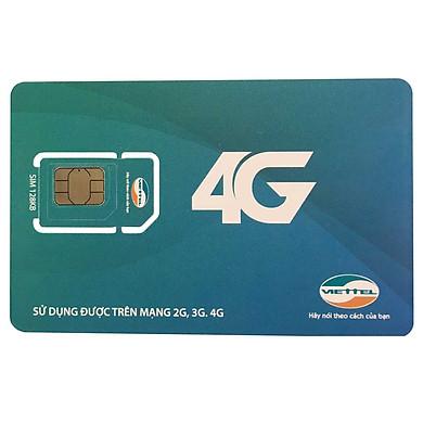 Sim Viettel 4G và Nghe gọi SG120 - Không giới hạn dung lượng, Gọi miễn phí nội mạng - Hàng chính hãng