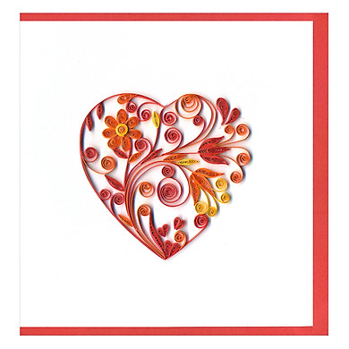 Thiệp Giấy Xoắn GX Love Việt Net VN2XM1150DBNN (15 x 15 cm)