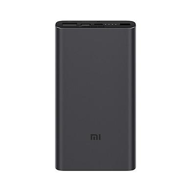 Pin Sạc Dự Phòng 10.000Mah Xiaomi Mi Power Bank Gen 3 Hỗ Trợ Sạc Nhanh Qc 3.0 - Hàng Nhập Khẩu