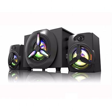 Loa Bosston Bluetooth 2.1 T1750-BT-LED RGB - Hàng Chính Hãng