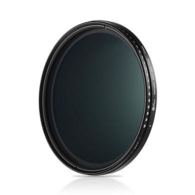 Fikaz 77mm Ultra Slim Variable Nd Filter Nd2 To Nd1000 Neutral Density Filter For Camera Lenses