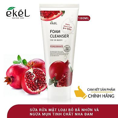 Sữa rửa mặt Lựu Ekel Foam Cleanser 180ml