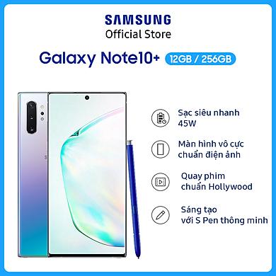 Điện Thoại Samsung Galaxy Note 10 Plus (256GB/12GB) – Hàng Chính Hãng