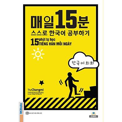 15 Phút Tự Học Tiếng Hàn Mỗi Ngày(tái bản 2020) TV