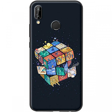 Ốp lưng dành cho điẹn thoại Huawei Nova 3I-Mẫu Rubik