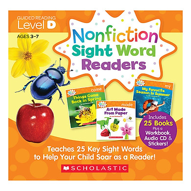 Nonfiction Sight Word Readers Level D With Cd (Student Pack)