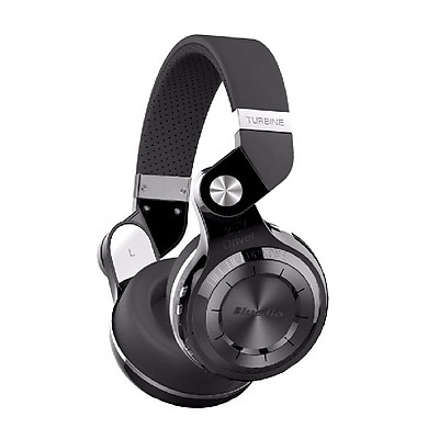 Tai Nghe Chụp Tai Bluetooth Bluedio T2+ (Đen)