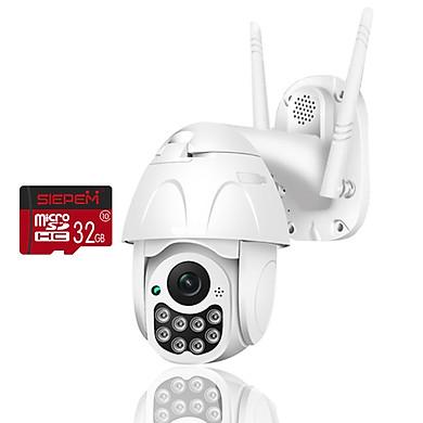 [ COMBO ] Camera Yoosee Ngoài Trời D08 2.0Mpx + 1 Thẻ Nhớ 32Gb Chính Hãng - Xoay Theo Chuyển Động