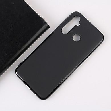 Ốp lưng silicon màu dành cho Realme 5 Pro siêu mỏng