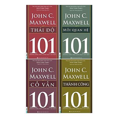 Combo Sách 101 - Những Điều Nhà Lãnh Đạo Cần Biết (4 Cuốn) - Bộ 1