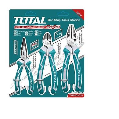 Bộ 3 kềm răng,cắt,nhọn cao cấp total THT2K0301S