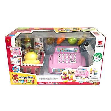 Máy tính tiền siêu thị 888C