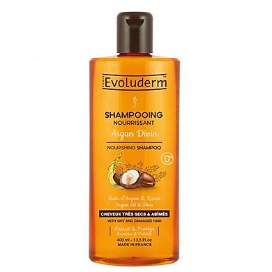 Dầu gội Argan dành cho tóc khô hư tổn Evoluderm - 17306