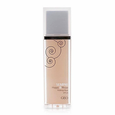 Kem Lót Trang Điểm Sempre H&P Makeup Base SPF20 #1 Skin Beige Geo_Py06 (40ml)