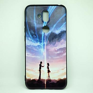 Ốp dành cho Nokia X7  cao su dẻo, hình Anime