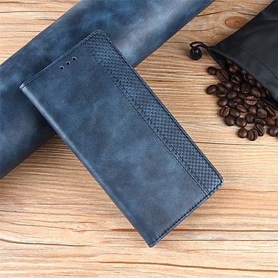 Bao da dạng ví Cao cấp dành cho Samsung Galaxy a50s Luxury Leather