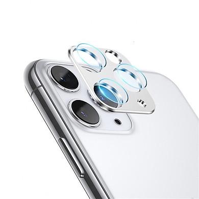 Bộ miếng dán kính cường lực & khung viền bảo vệ Camera cho iPhone 11 Pro / 11 Pro Max hiệu Totu (độ cứng 9H, chống trầy, chống chụi & vân tay, bảo vệ toàn diện) - Hàng nhập khẩu