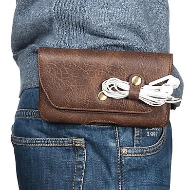 Bao da đựng điện thoại đeo ngang hông 4-5.5inch - DT14A