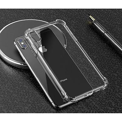 Ốp lưng silicon dẻo trong suốt chống sốc dành cho iPhone X