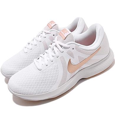 Giày Chạy Bộ Nữ WMNS Nike REVOLUTION 4 908999-102 - Trắng