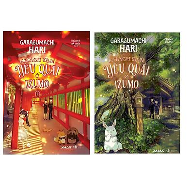 Cuốn truyện mang đến cuộc phiêu lưu thú vị: Combo 2 tập Khách sạn yêu quái ở Izumo tập 1,2