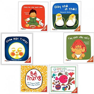 Ehon Nhật bản dành cho bé 0 - 3 tuổi Ehon bé ngoan (Bộ 6 cuốn)