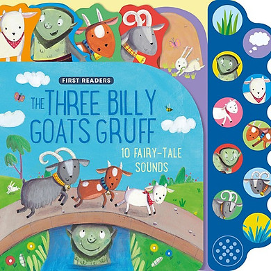 First Readers The Three Billy Goats Gruff (Sound books)