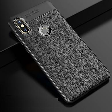 Ốp lưng Xiaomi Mi Mix 2s silicon giả da, chống sốc