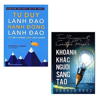 Combo Sách Kỹ Năng Cần Có Trong Công Việc: Khoảnh Khắc Người Sáng Tạo + Tư Duy Lãnh Đạo - Hành Động Lãnh Đạo